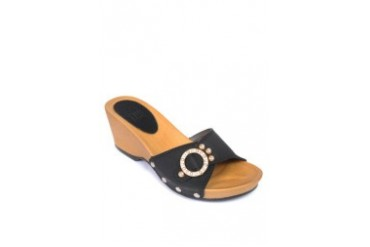 Black Slide Wedges