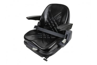 Premium Integrated Suspension Seat With Armrests 48055-Bk