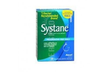 Systane Lubricant Eye Drops Preservative Free Vials 28 each