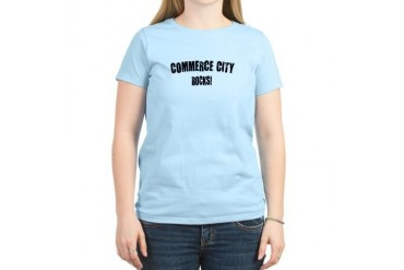 Commerce City Rocks Colorado Women's Light T-Shirt by CafePress