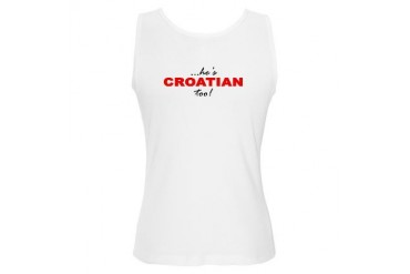 Perfect Croatian Man Tank Humor Women's Tank Top by CafePress