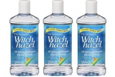 Dickinson s Witch Hazel 100 % Natural Astringent 3 Bottles Pack