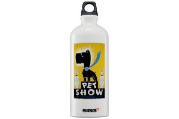wpa 464.jpg Vintage Sigg Water Bottle 1.0L by CafePress