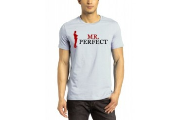 Mr Perfect Light Grey T-Shirt