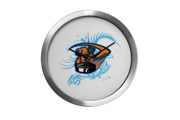 Ice Hockey. Sports Modern Wall Clock by CafePress