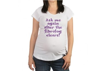 Health Maternity T-Shirt by CafePress