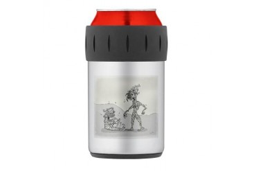 Friends Thermos Can Cooler Cartoon Thermosreg; Can Cooler by CafePress