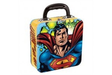 DC Comics Superman Square Tin Lunch Box