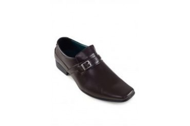 Knight Slip On Dress Shoes With Buckle