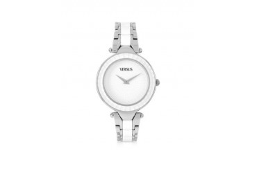 Sertie Stainless Steel and Resin Women's Watch