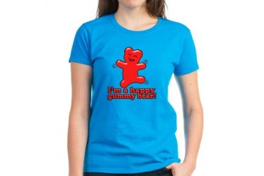 I'm a Happy Gummy Bear! Women's Dark T-Shirt