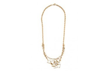 Work Collection Pearl Triangle Necklace