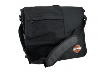 Black Licensed Harley-Davidson Messenger Bag