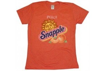 Snapple Just Peachy Baby Tee