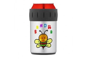 Sandra Thermos Can Cooler Cute Thermosreg; Can Cooler by CafePress