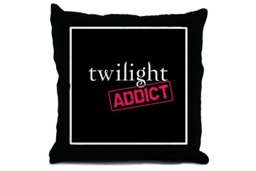 Twilight Addict Throw Pillow