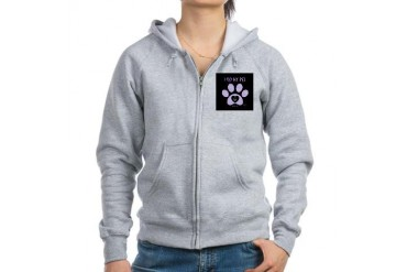 I Love My Pet Animals Women's Zip Hoodie by CafePress