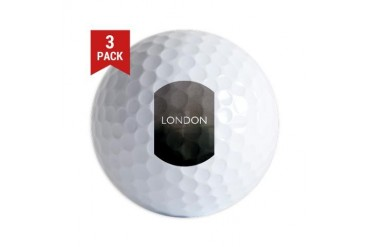 London.jpg Vintage Golf Balls by CafePress
