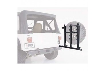 Garvin Industries Spare Tire Swing-Away System with Hitch in Black Powder Coat 34900 Tire Carriers
