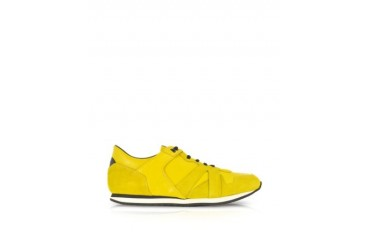 McQ Runner Yellow Leather Sneaker