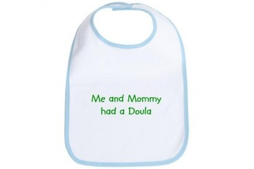 Doula Baby Bib by CafePress