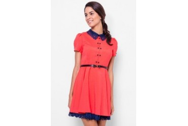 Catwalk88 Peter Pan Collar Dress