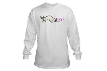 FerretsFirst Pets Long Sleeve T-Shirt by CafePress