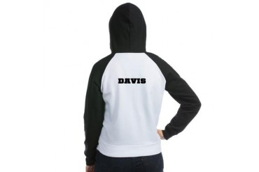 Ravens Cheerleader B Davis Tree hill ravens Women's Raglan Hoodie by CafePress