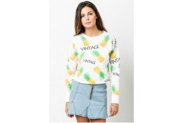 Pineapple Pullover Top