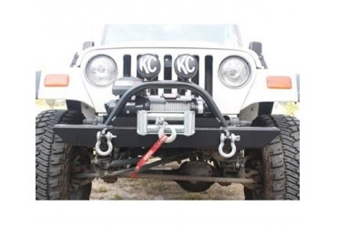 Rock Hard 4x4 Parts 46 Inch Straight Up Winch Mount Front Bumper  RH4005-C Front Bumpers