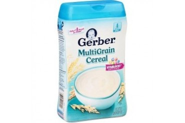 Gerber Multigrain Baby Single Grain Cereal