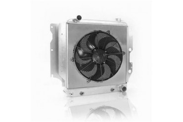 Griffin Thermal Products Off-Road Fluid Cooler/Fan Kit CXU