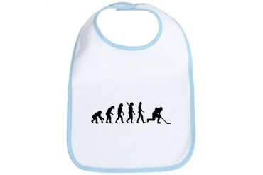 Evolution hockey Sports Bib by CafePress