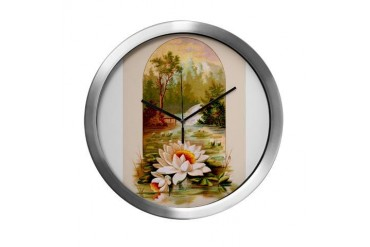 Southern Belle Vintage Modern Wall Clock by CafePress