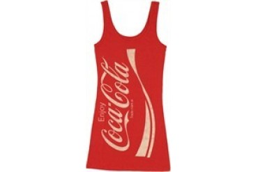 Coca-Cola Enjoy Logo Snug Fit Tank Top Dress