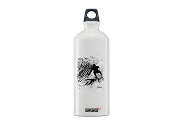 aSURFmoment B:W 56.jpg Sports Sigg Water Bottle 0.6L by CafePress