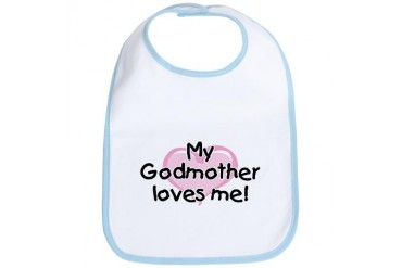My Godmother loves me (pk) Bib