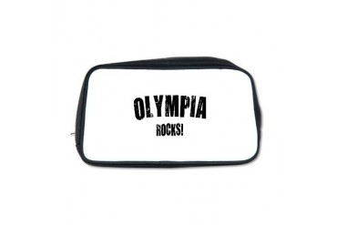 Olympia Rocks Location Toiletry Bag by CafePress