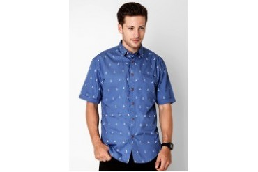 Travis Jeans & Co Anchor Printed Shirt