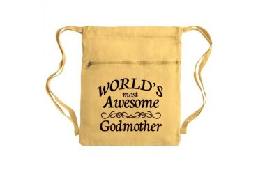 Awesome Sack Pack Family Cinch Sack by CafePress
