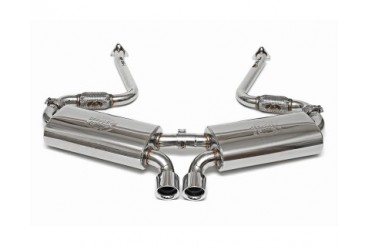 Fabspeed Maxflo Performance Race Exhaust System with Carrera GT Style Tips Porsche 986 Boxster 97-99