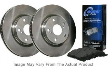 1997 Volvo 850 Brake Disc and Pad Kit Centric Volvo Brake Disc and Pad Kit BKF104597 97