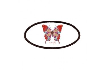 Attraction Butterfly Cool Patches by CafePress