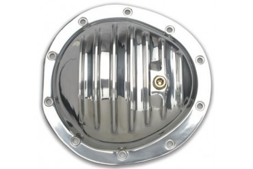 Trans-Dapt GM 8.5in. 10 Bolt Front Polished Aluminum Cover 4825 Differential Covers
