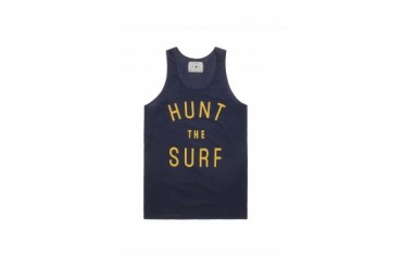 Mens Wellen Tank Tops - Wellen Hunt The Surf Tank Top
