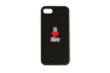 Glen188.png Love iPhone Charger Case by CafePress