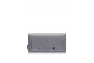 Grainy Leather Stud Wallet