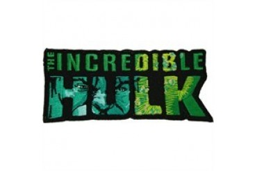 Marvel Comics Incredible Hulk Name Face Patches