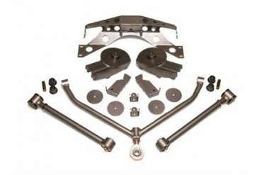 PUREJEEP 5 Inch Short Arm Stealth Stretch Kit PJ8266 Complete Suspension Systems and Lift Kits