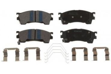 1999-2000 Mazda Protege Brake Pad Set Bendix Mazda Brake Pad Set MKD637IQ 99 00
